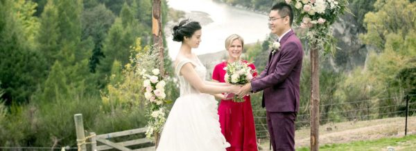 A stunning wedding venue at Canyons Lodge, Queenstown