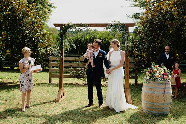 Summer Garden Wedding in Auckland that went global