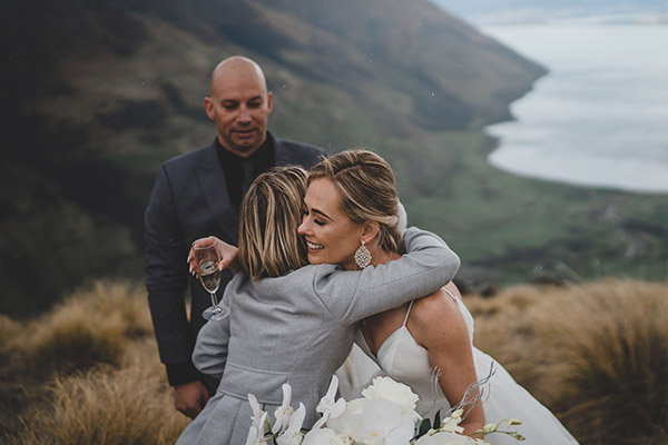 Jenna & Greg, Bayonet Peak, Queenstown.